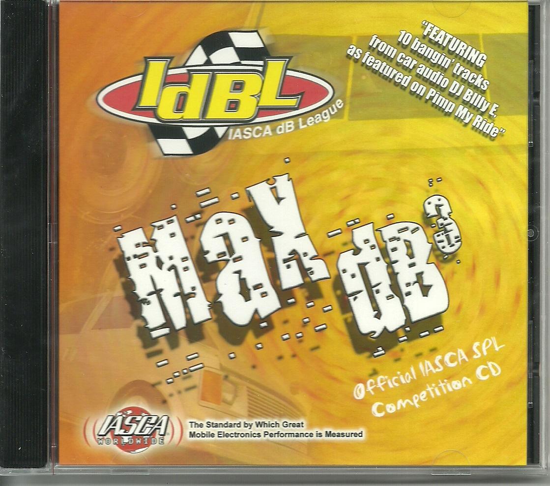 """IASCA IdBL """"Max dB3"""" SPL CD"""