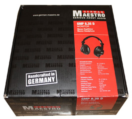 German Maestro GMP8.35 Headphones