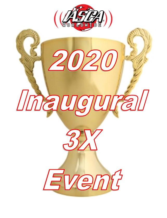 IASCA INAUGURAL 2020 3X EVENT