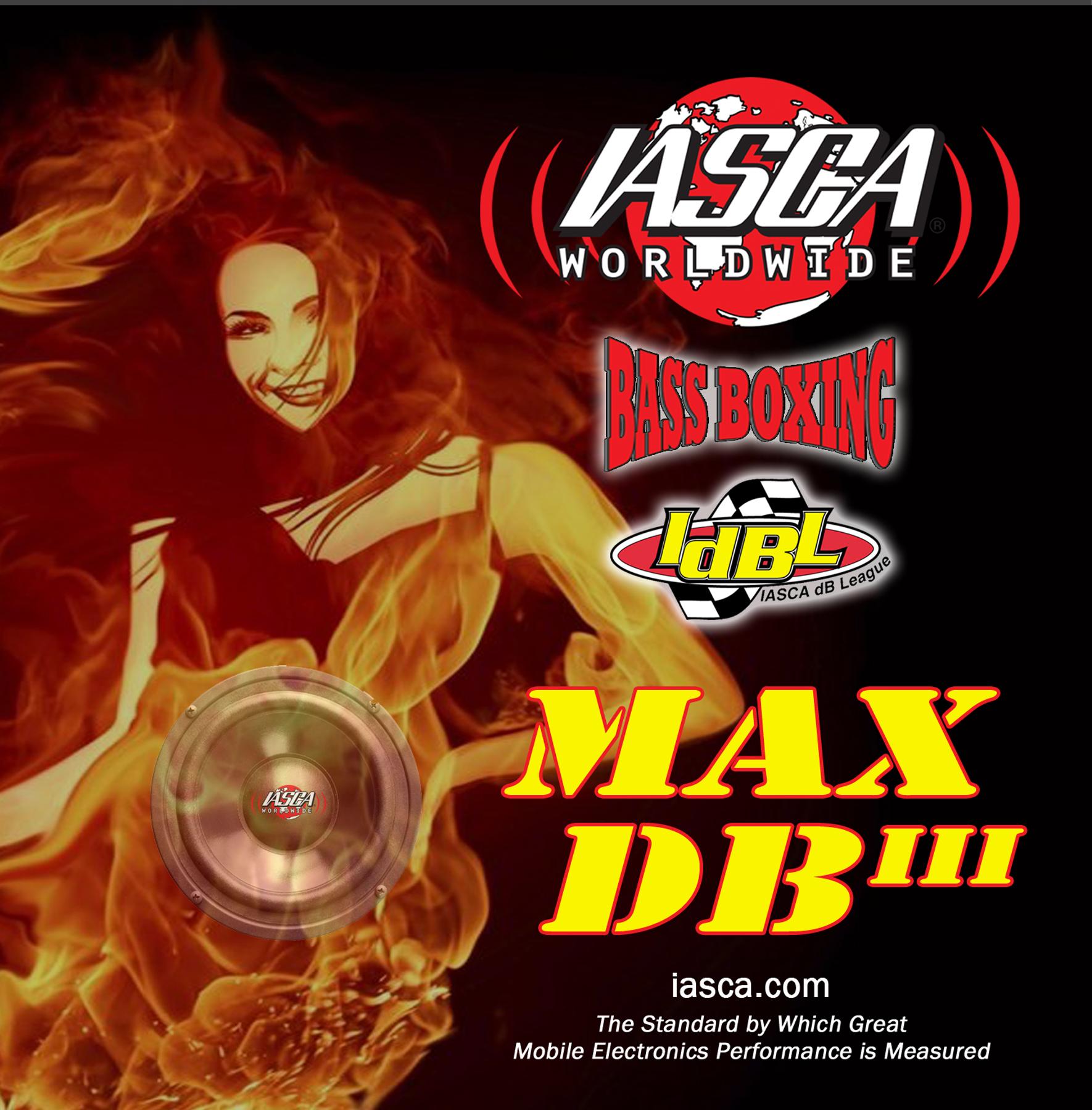 IASCA MAX DB III CD